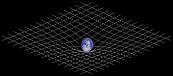 350px-Spacetime_curvature